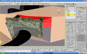 3D Virtual Mountain Tunnel