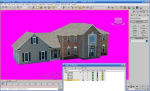 Working on 3D McMansion
