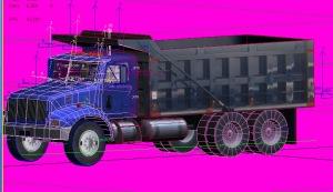 3D Virtual Dump truck