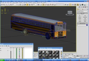 Flatnose Bus getting there