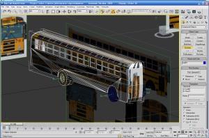 Flat Nose Bus