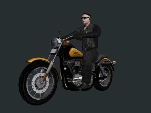 Harley Rider 34 View