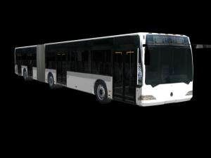 articulating bus